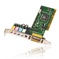 Inland 6 Channel PCI Sound Card