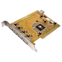 SIIG USB 2.0 5-Port PCI Card