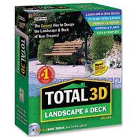 Individual Software Total 3D Landscape & Deck Deluxe 9