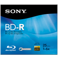 Sony BD-R 6x 25GB Disc