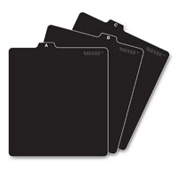 Ideastream Vaultz A to Z CD File Folder Guides