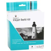Meritline Products Black Inkjet Refill Kit