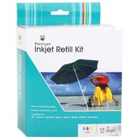 Meritline Products Color Inkjet Refill Kit