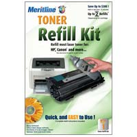 Meritline Products Toner Refill Kit #1 with Hole Making Tool