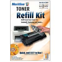 Meritline Products Toner Refill Kit #6 With Hole Making Tool