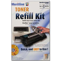 Meritline Products Toner Refill Kit #7 For Brother And More