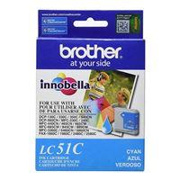 Brother LC51C Cyan Inkjet Cartridge