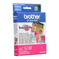 Brother LC51M Magenta Inkjet Cartridge