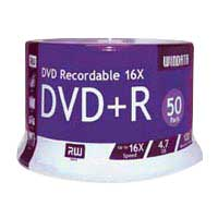 Windata DVD+R 16x 4.7GB/120 Minute Disc 50-Pack Spindle