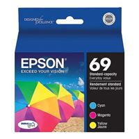 Epson 69 Multi-Pack Color Cartridges