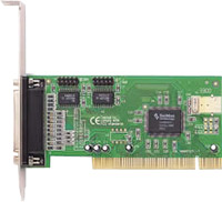 Syba PCI to 2-Serial & 1-Parallel port host controller card