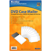 Meritline Products DVD Case Mailer 10-Pack
