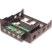 SIIG USB 2.0 4-Port Bay Hub