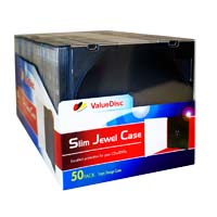 ValueDisc Black Slim Jewel Case