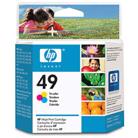 HP HP 49 Tri-color Ink Cartridge (51649A)