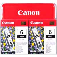 Canon BCI-6 Black Cartridge 2-Pack