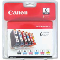 Canon BCI-6 Cartridge 6-Pack