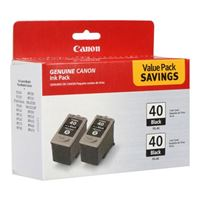 Canon PG-40 Black Cartridge 2-Pack