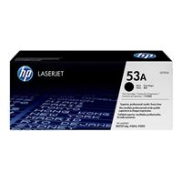 HP Q7553A LaserJet Black Smart Print Toner Cartridge