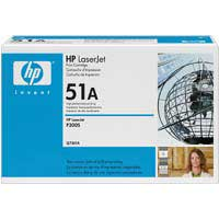 HP Q7551A LaserJet Black Smart Print Toner Cartridge
