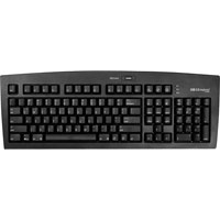Matias USB 2.0 Keyboard with USB Dock and 2-Port Hub - (Black)