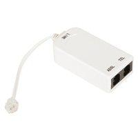 QVS 2 Port DSL Line Conditioner with Phone Jack