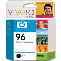 HP 96 Black Ink Cartridge (C9348FN) 2-Pack