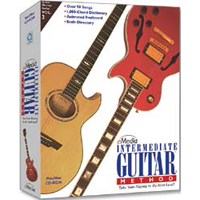 eMedia Intermediate Guitar Method (Win / Mac)