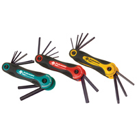 Performance Tools 3 Piece Folding Key Set (SAE, MM, Star)