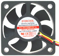 Evercool 50mm Ball Bearing Case Fan