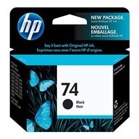 HP HP 74 Black Ink Cartridge (CB335WN)