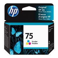 HP 75 Tri-Color Ink Cartridge (CB337WN)
