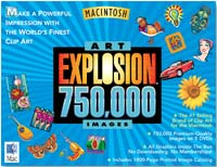 Nova Development Art Explosion 750,000 DVD (Mac)
