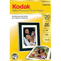 "Printworks Kodak Ultra Premium Photo Paper 4""x6"" 20 Sheets"