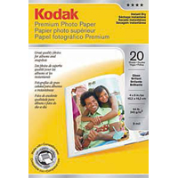 "Printworks Kodak Premium Photo Paper 4""x6"" 20 Sheets"