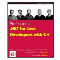 WROX Press Professional C# & the .NET Framework for J2EE Developers