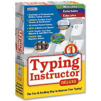 Individual Software Typing Instructor Deluxe