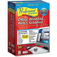 Individual Software Professor Teaches Office Super Set (PC)
