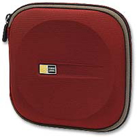 Case Logic Red CD Wallet