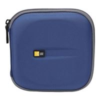 Case Logic Blue CD Wallet