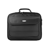 "Inland TitanPro Notebook Briefcase Fits Screens up to 15.1"" Black"