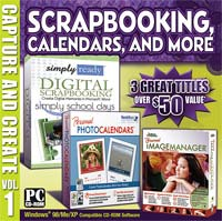 PC Treasures Capture and Create Scrapbooking Calendars and More