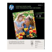 "HP 8.5""x11"" Everyday Semi-Gloss Photo Paper 50-Sheets"