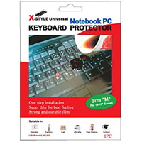 Green Onions Supply X-style Keyboard Protector for Notebook Keyboard (Medium)