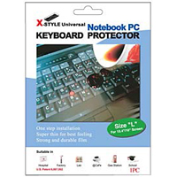 Green Onions Supply X-style Keyboard Protector for Notebook Keyboards (Large)
