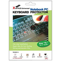 Green Onions Supply X-style Keyboard Protector for Notebook Keyboard (X-Large)