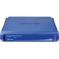 Trendnet TE100-S8 8 Port 10/100 Fast Ethernet Switch