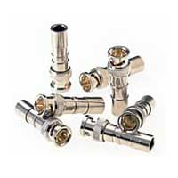 Paladin Tools RG6/6Q Compression BNC Connectors