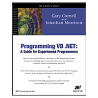 Apress Programming VB.NET:   A Guide for Experienced programmers, Beta 2