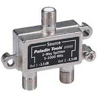Paladin Tools 2-Way Cable TV Splitter